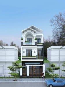 Mẫu thiết kế nhà phố đẹp 4