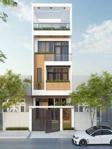 Mẫu thiết kế nhà phố đẹp 5