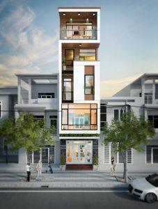thiết kế nhà phố 7