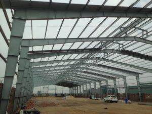 Nhà thầu thi công xây dựng nhà xưởng khung thép tiền chế 2021