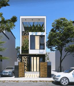 Mẫu thiết kế nhà phố đẹp 2