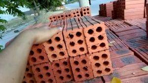Để thi công xây tường cần bao nhiêu viên gạch