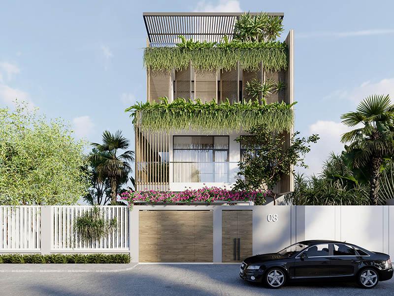 Mẫu thiết kế nhà phố số 3