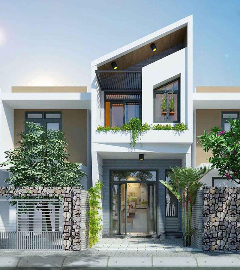 Mẫu thiết kế nhà phố 6x8m 18