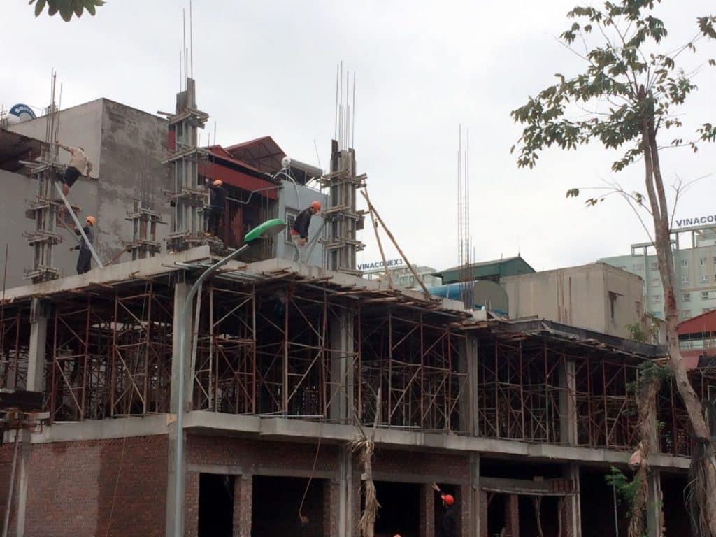 Đơn giá xây dựng phần thôi nhà phố tphcm