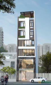 chi phí xây nhà 6 tầng