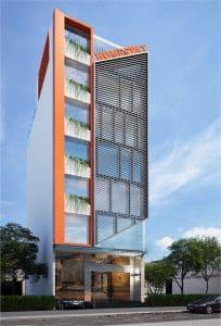 thiết kế nhà phố 7 tầng 8