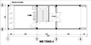 Mẫu thiết kế nhà phố 3 tầng 1 tum 17