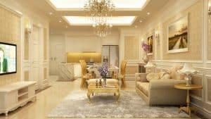 Mẫu thiết kế nội thất tinh tế 5