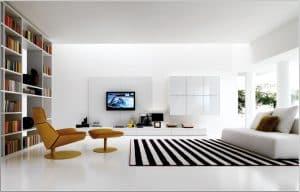 Mẫu sơn phòng khách đẹp số 6