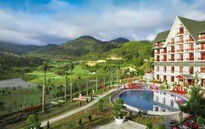 Mẫu thiết kế xây dựng khách sạn đẹp 2