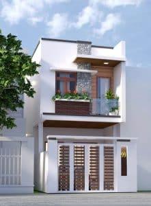 thiết kế nhà phố 16