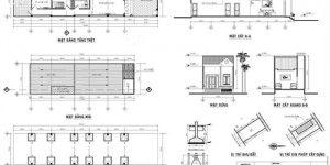 bản vẽ xin phép xây dựng nhà phố 1