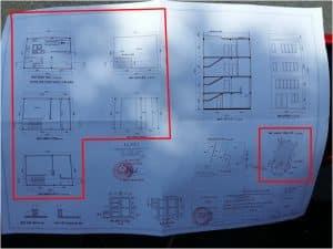 bản vẽ xin phép xây dựng nhà phố 3
