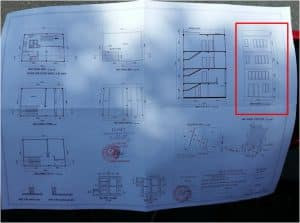 bản vẽ xin phép xây dựng nhà phố 4