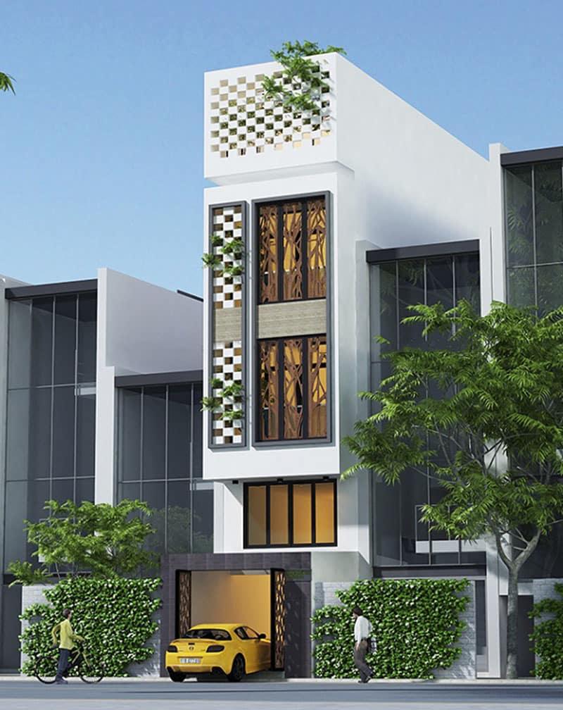 thiết kế nhà phố 35