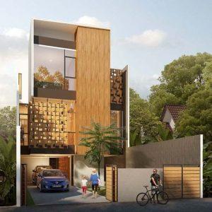 thiết kế nhà phố 4