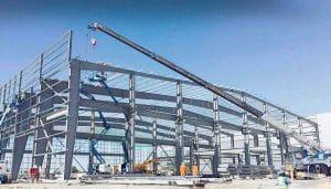 Quy trình thi công xây dựng nhà xưởng 1 mái