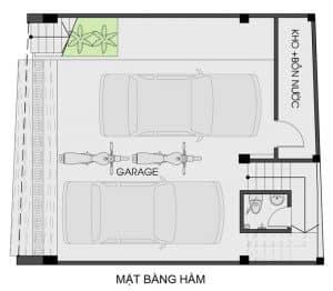 thiết kế nhà phố mặt tiền 7m 14