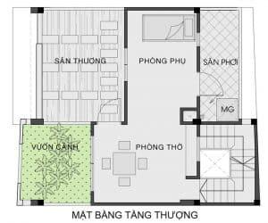 thiết kế nhà phố mặt tiền 7m 18
