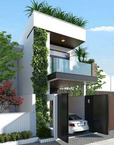 thiết kế nhà phố mặt tiền 7m 1