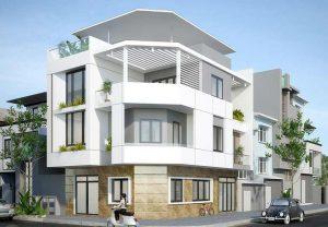 thiết kế nhà phố 40