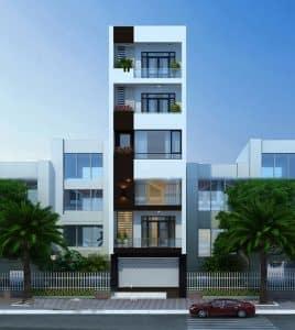 chi phí xây nhà 6 tầng 70m2 1