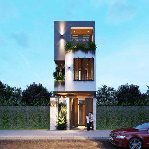 thiết kế nhà phố 4x16m 17