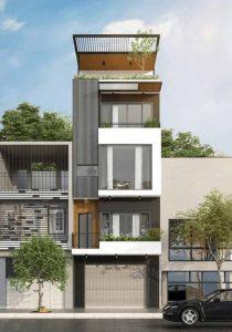 thiết kế nhà phố 4x16m 15