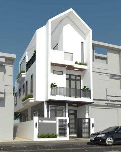 thiết kế nhà phố 12