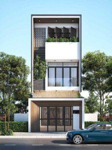 thiết kế nhà phố 33