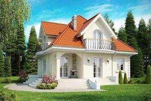 Mẫu thiết kế nhà phong cách châu Âu đẹp số 13