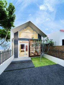 thiết kế nhà đẹp dưới 1 tỷ 7