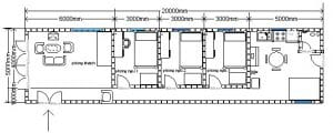 thiết kế nhà cấp 4 5x20 9