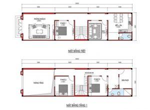 thiết kế nhà cấp 4 5x20 1