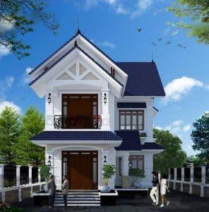 thiết kế nhà đẹp dưới 1 tỷ 2