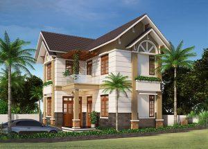 thiết kế nhà đẹp dưới 1 tỷ 12