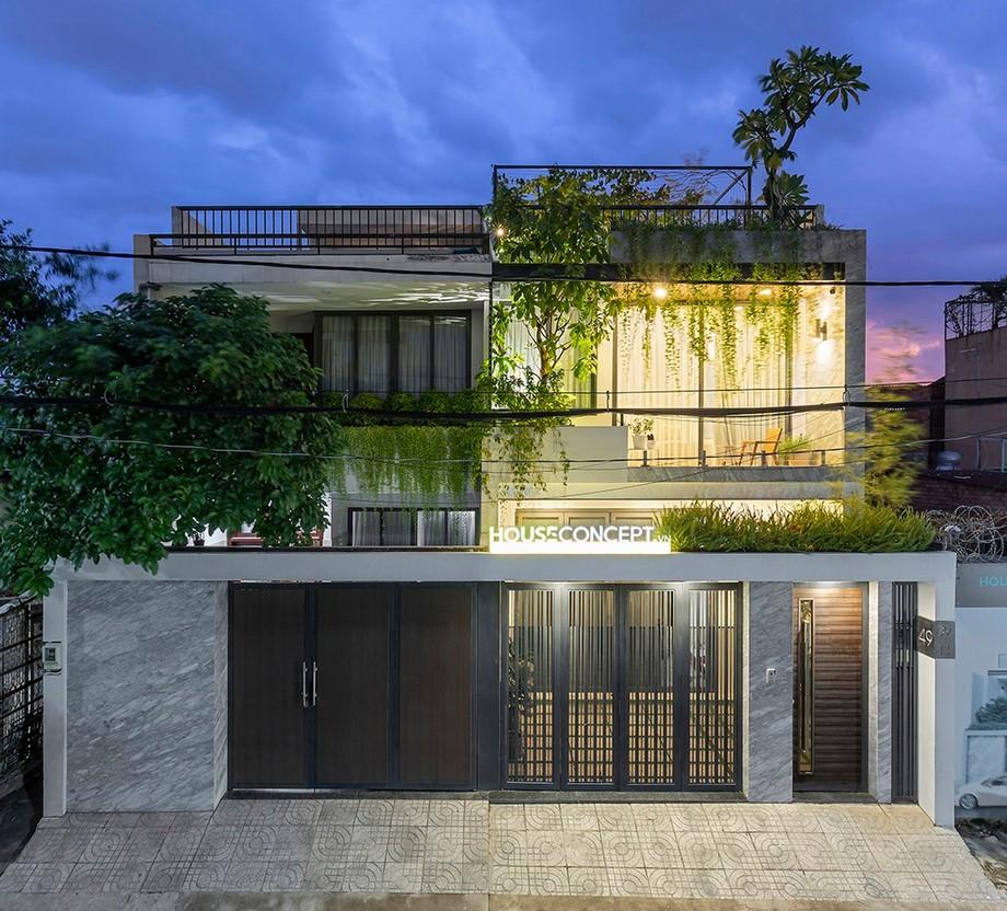 Top Những Mẫu Thiết Kế Nhà Phố Có Phòng Ngủ Tầng Trệt 2021 Thiet-ke-nha-pho-co-phong-ngu-tang-tret-1