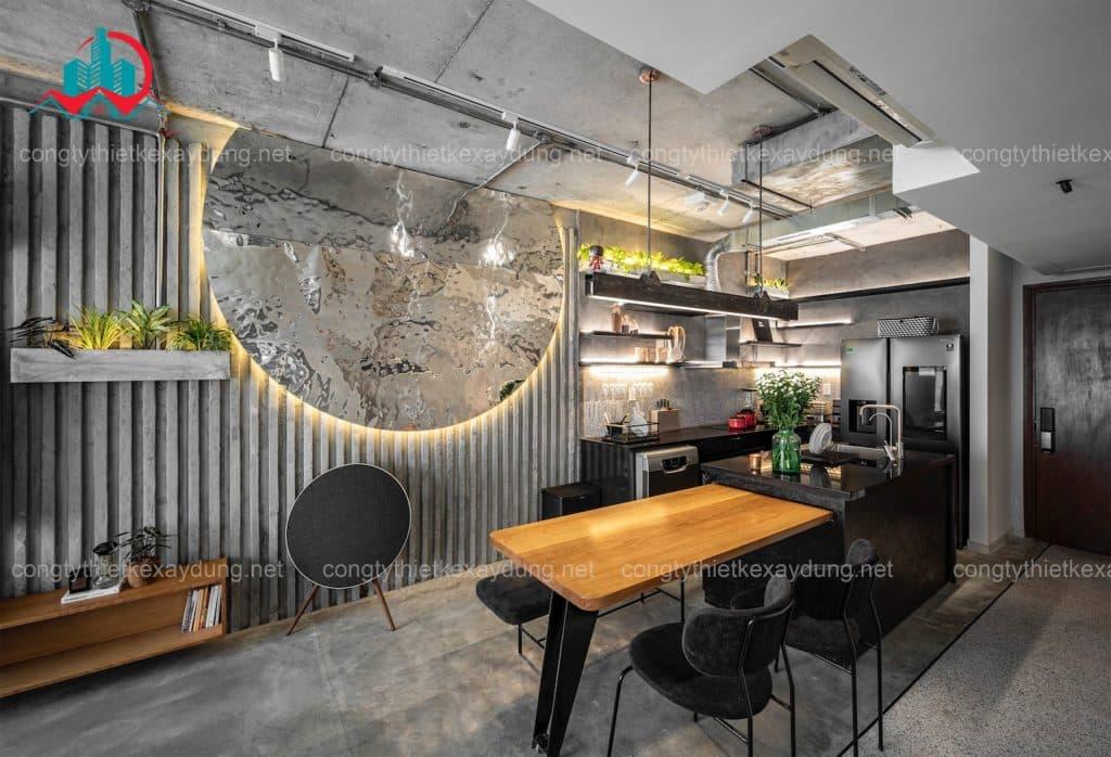 thiết kế thi công nội thất hoàn thiện chất lượng cao