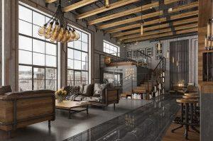 trang trí trần nhà bằng gỗ 15