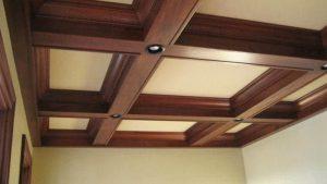 trang trí trần nhà bằng gỗ 8