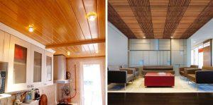 trang trí trần nhà bằng gỗ 7