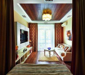 trang trí trần nhà bằng gỗ 5