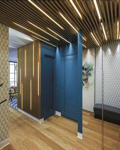trang trí trần nhà bằng gỗ 2