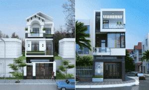 mẫu thiết kế nhà sang trọng