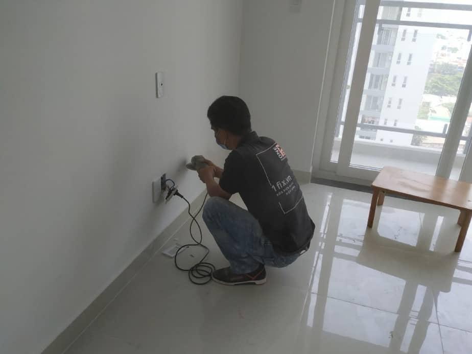 nguyên tắc đi dây điện âm tường