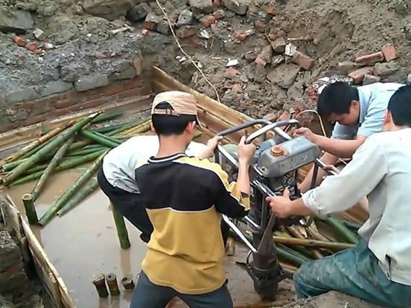 Khảo sát địa chất thi công móng nhà 2 tầng
