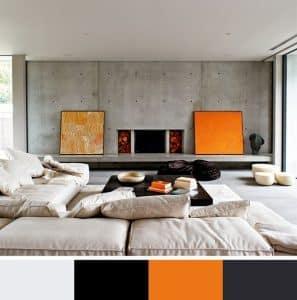 Mẫu sơn phòng khách đẹp số 3