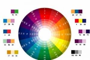 Bảng phối màu nội ngoại thất Công ty Thiết Kế Xây Dựng Khang Thịnh