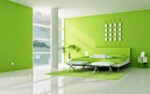 Mẫu sơn phòng khách đẹp số 1